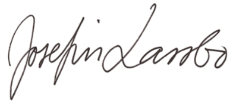 Signature Josefin Lassbo